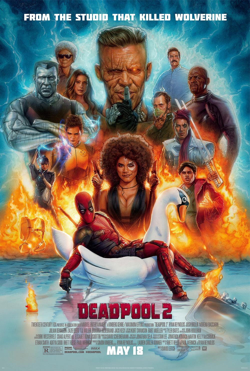 Deadpool 2 - Offizielles Poster