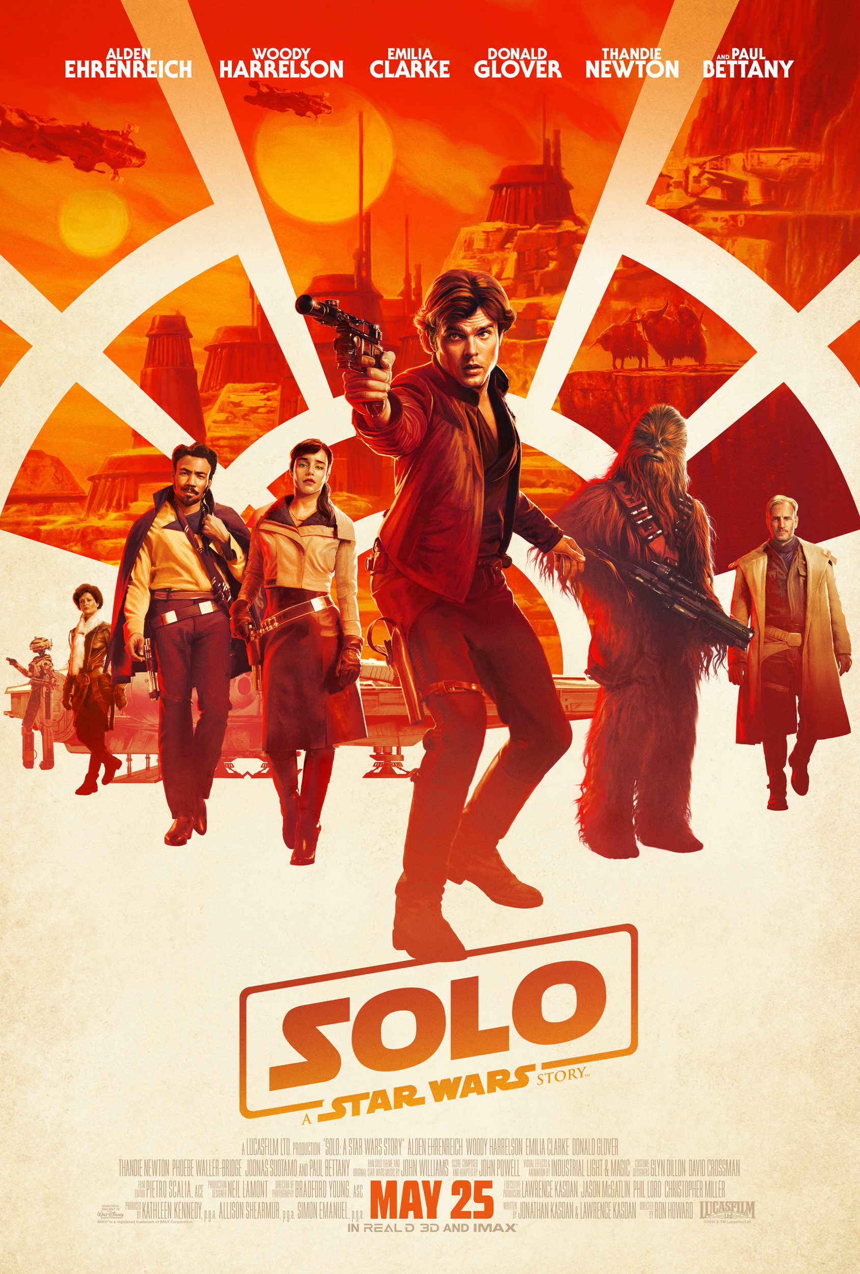 Solo: A Star Wars Story - Offizielles Poster