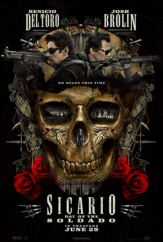 Sicario: Day of the Soldado - Offizielles Poster
