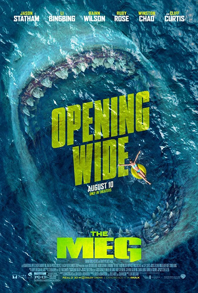 The Meg - Offizielles Poster