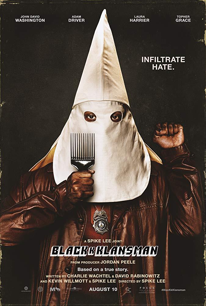BlacKkKlansman - Offizielles Poster