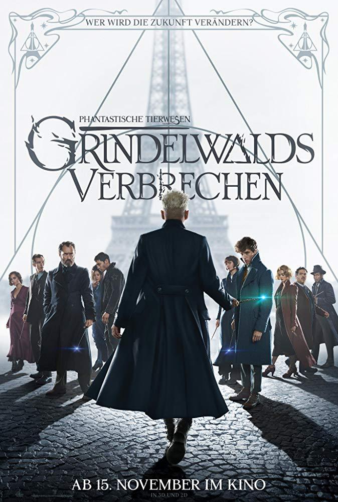 Phantastische Tierwesen: Grindelwalds Verbrechen - Offizielles Poster