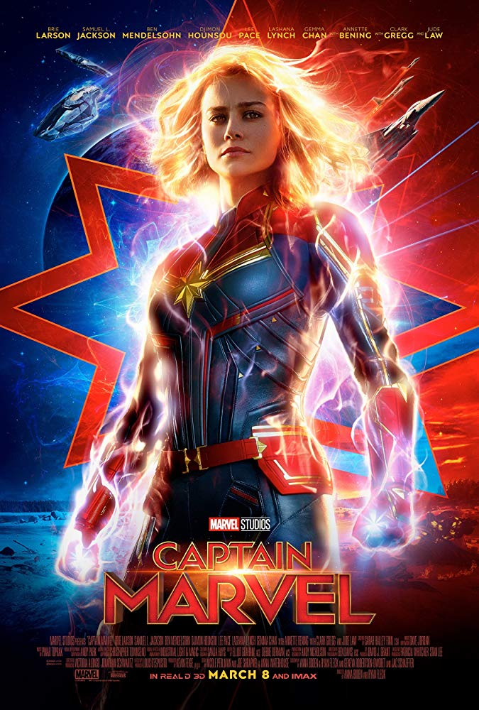 Captain Marvel - Offizielles (englisches) Poster