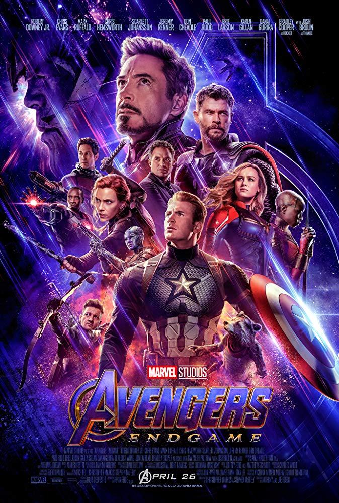 Avengers: Endgame - Offizielles Poster