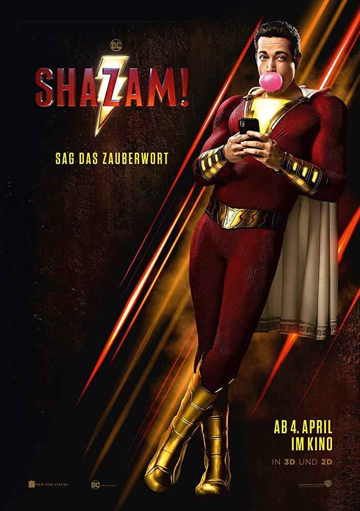 Shazam! - Offizielles Poster