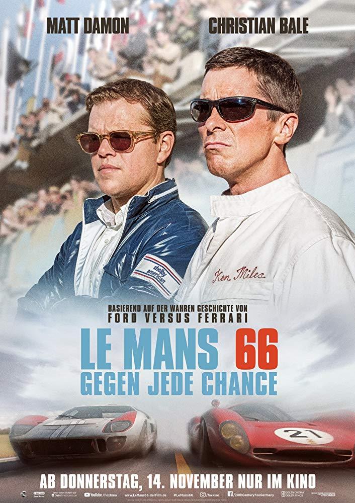 Le Mans 66 - Offizielles Poster