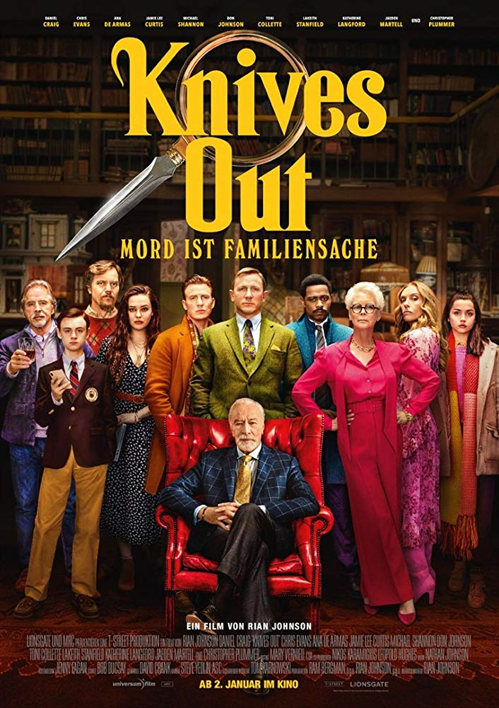 Knives Out - Offizielles Poster