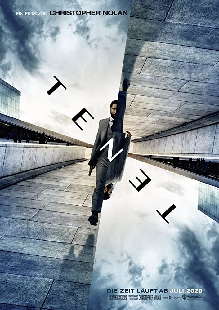 Tenet (2020) - Offizielles Poster